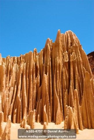 Red tsingy